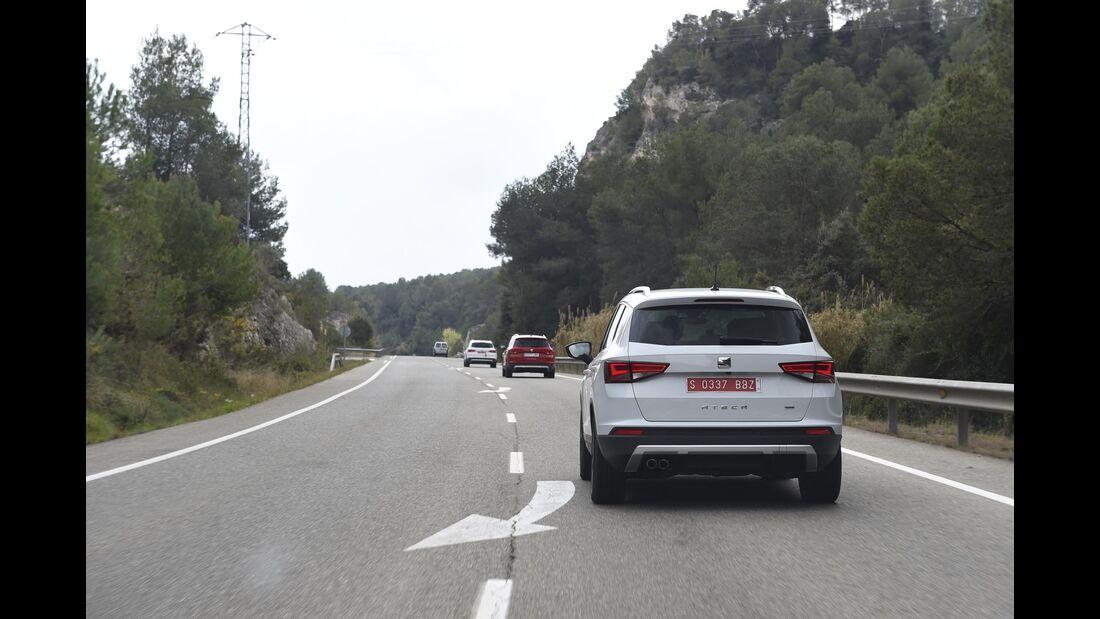 Seat Ateca, Fahrbericht, 03/2016, SUV
