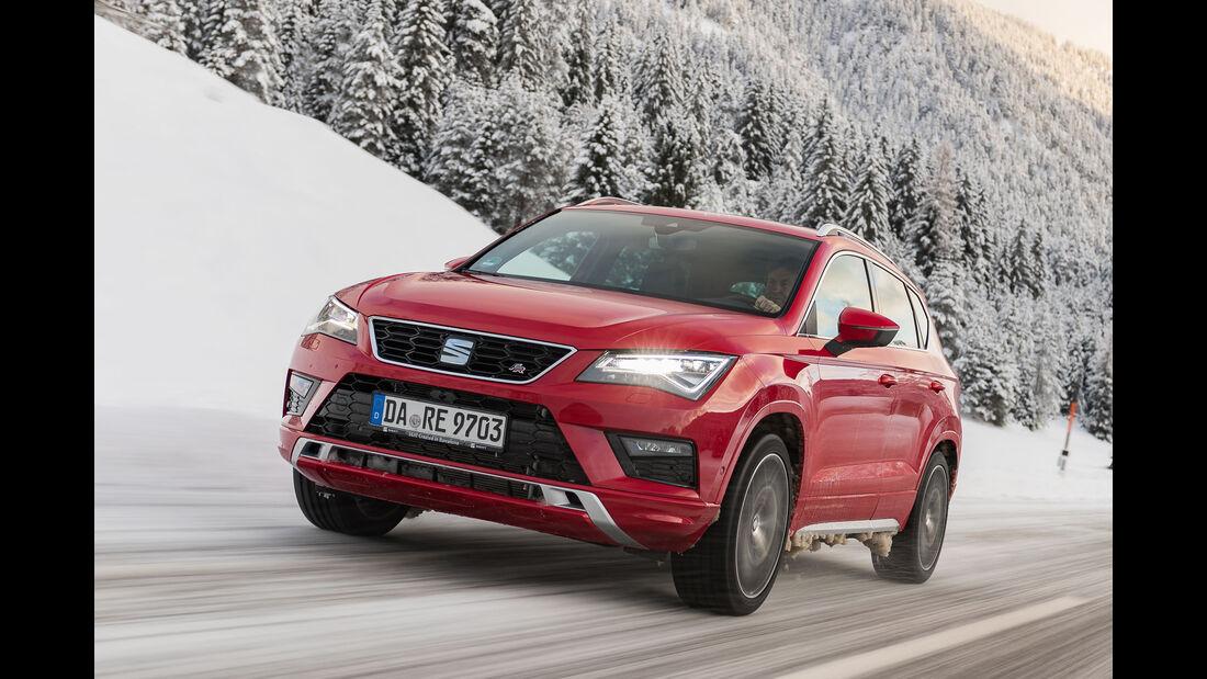 Seat Ateca Schnee Winter SUV