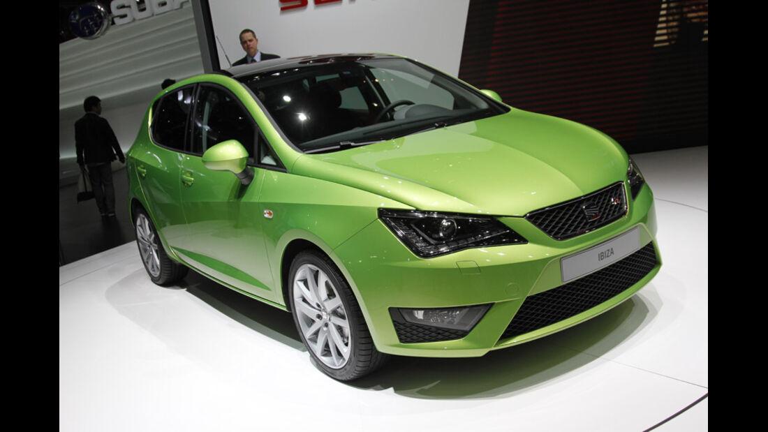Seat Auto-Salon Genf 2012 Seat Ibiza