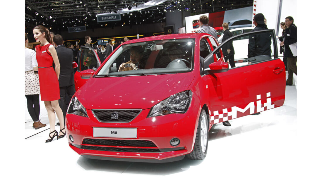 Seat Auto-Salon Genf 2012 Seat Mii