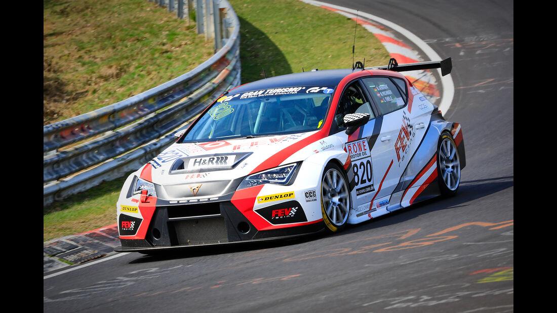 Seat Cup Racer TCR - Startnummer #820 - FEV Racing - TCR - VLN 2019 - Langstreckenmeisterschaft - Nürburgring - Nordschleife