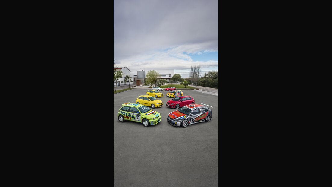 Seat Cupra Modelle