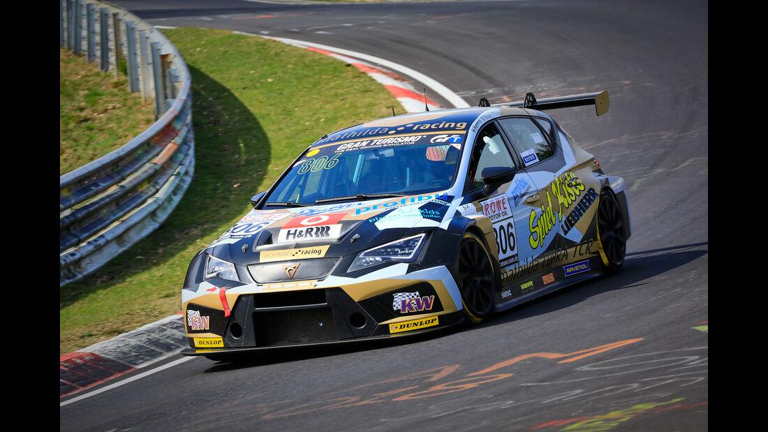 Seat Cupra TCR - Startnummer #806 - Mathilda Racing - TCR - VLN 2019 - Langstreckenmeisterschaft - Nürburgring - Nordschleife