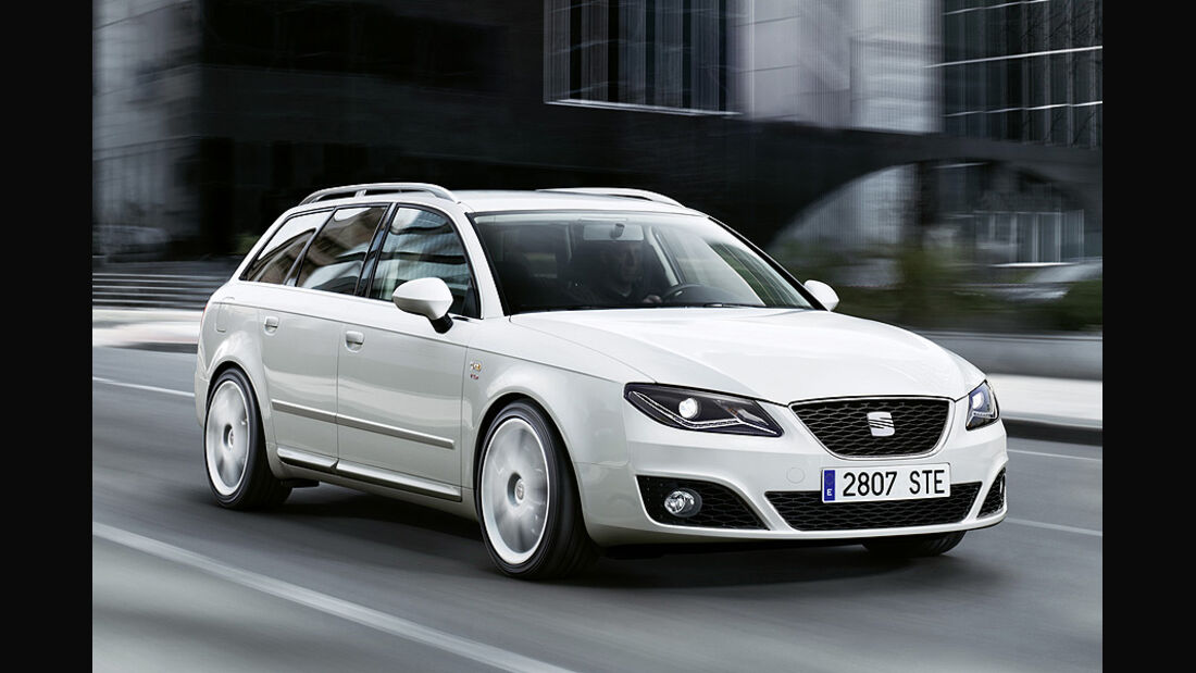 Seat Exeo, facelift 2011,