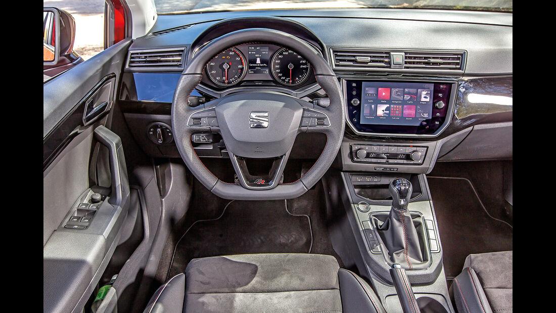 Seat Ibiza 1.0 TSI, Cockpit