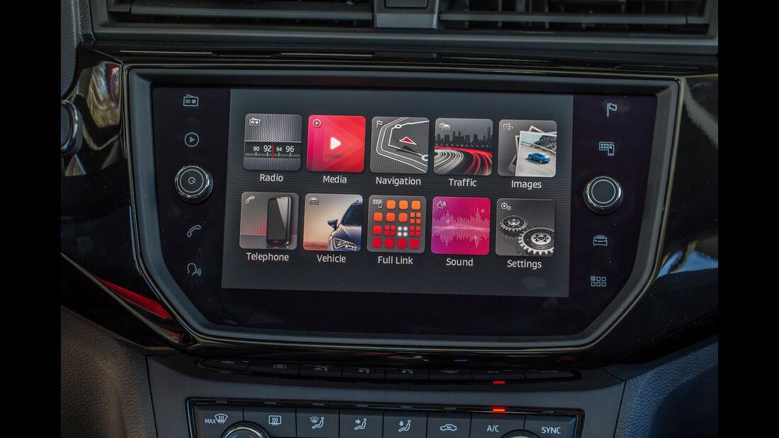 Seat Ibiza 1.0 TSI, Infotainment
