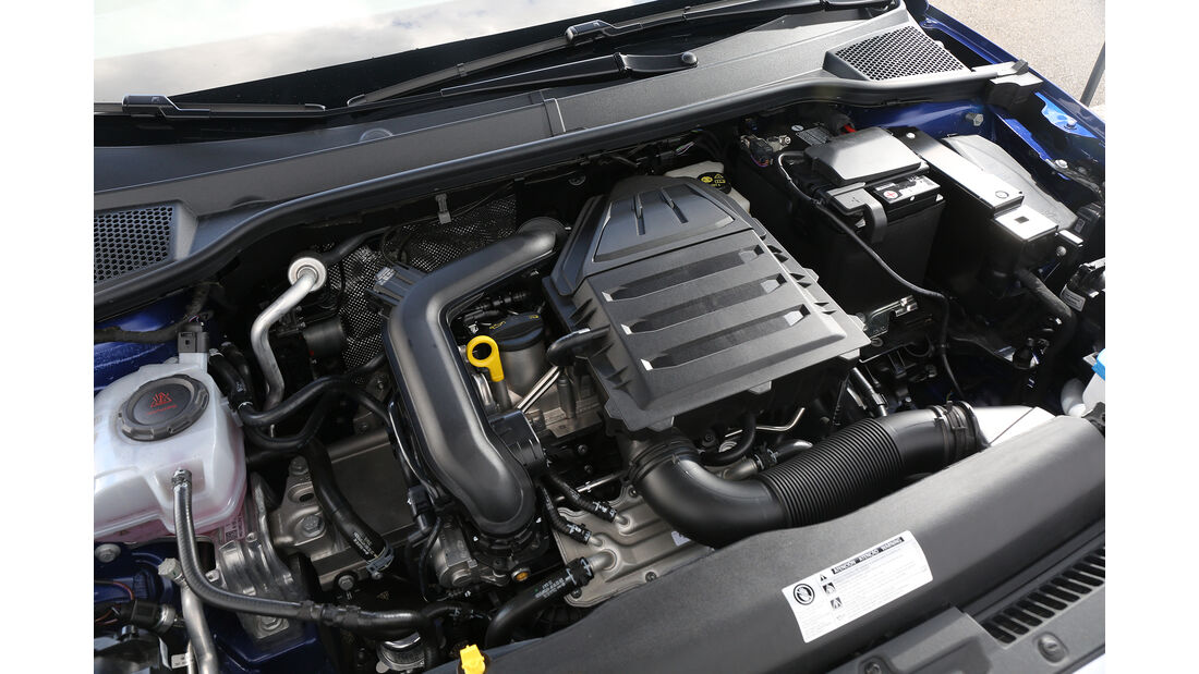 Seat Ibiza 1.0 TSI, Motorraum