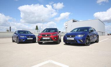Seat Ibiza 1.0 TSI, Seat Arona 1.0 TSI, Seat Leon 1.0 TSI, Exterieur