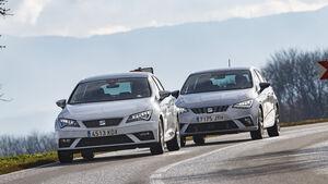 Seat Ibiza 1.0 TSI, Seat Leon 1.0 TSI, Exterieur