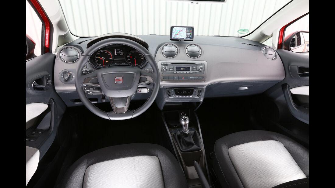 Seat Ibiza 1.2 TSI Ecomotive Style, Cockpit, Lenkrad