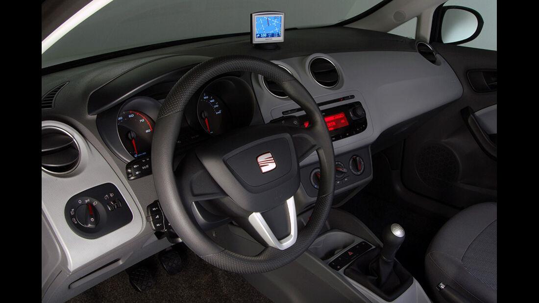 Seat Ibiza 1.2 TSI, Innenraum