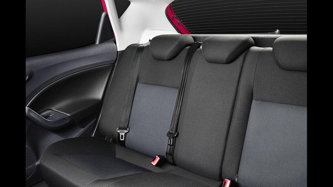Seat Ibiza 1.2 TSI, Sitze