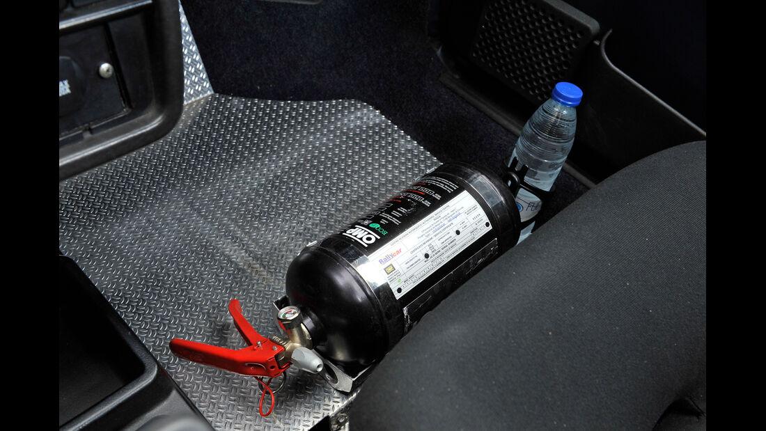 Seat Ibiza 1.5 GLX, Feuerlöscher