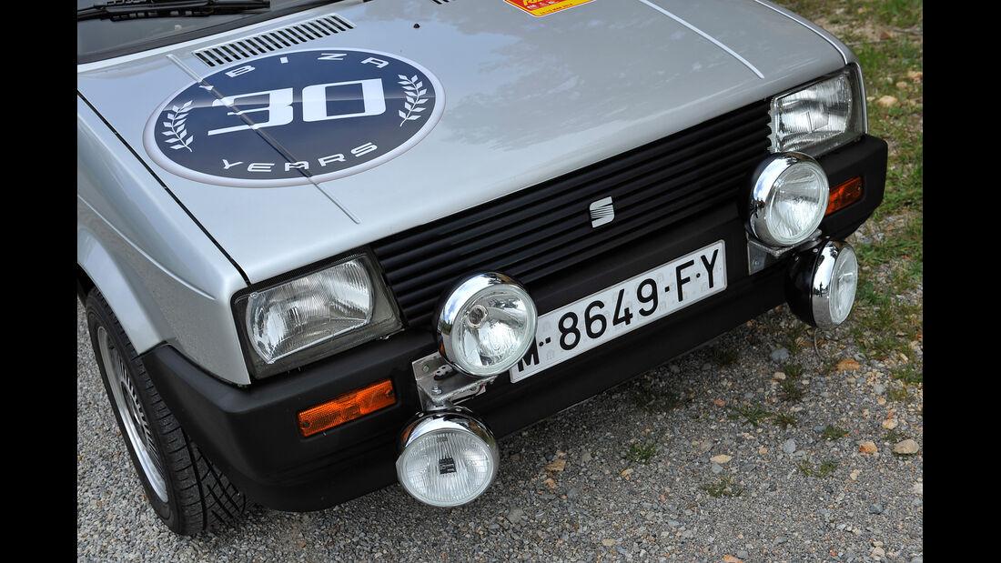 Seat Ibiza 1.5 GLX, Frontscheinwerfer