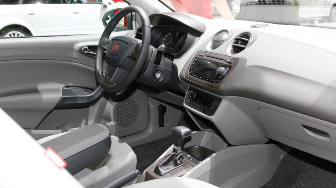 Seat Ibiza, Autosalon Genf 2012, Messe