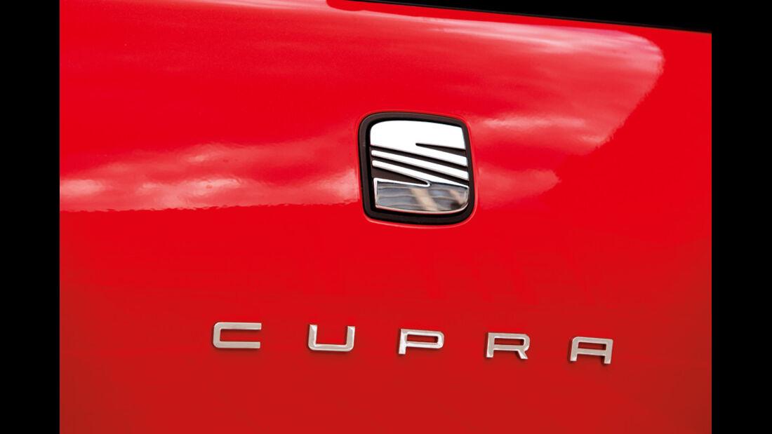Seat Ibiza Cubra, Emblem