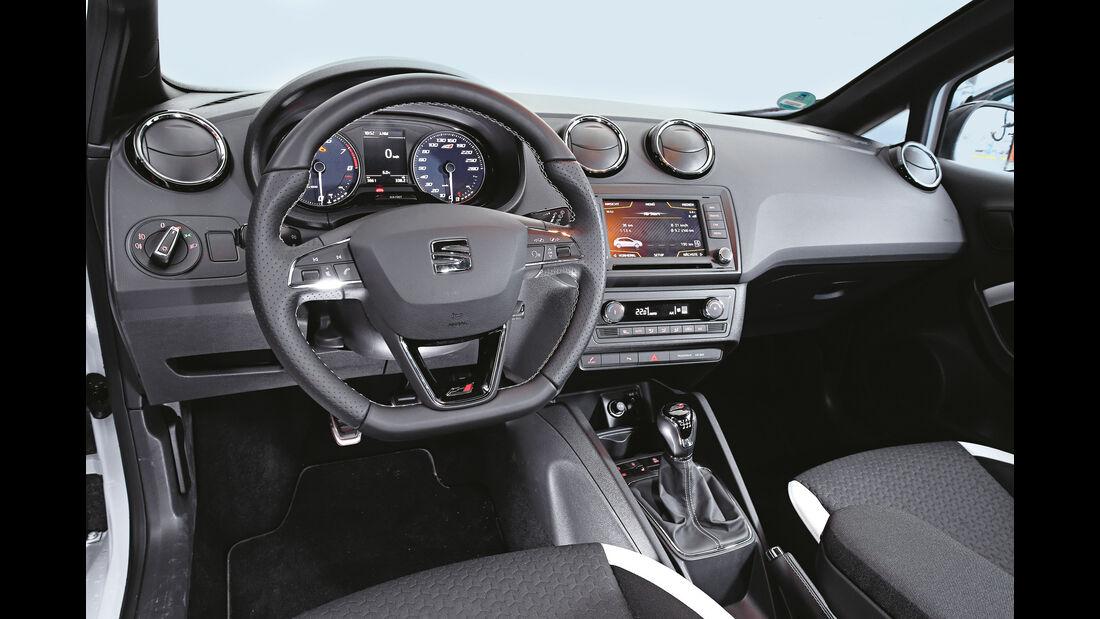 Seat Ibiza Cupra, Cockpit