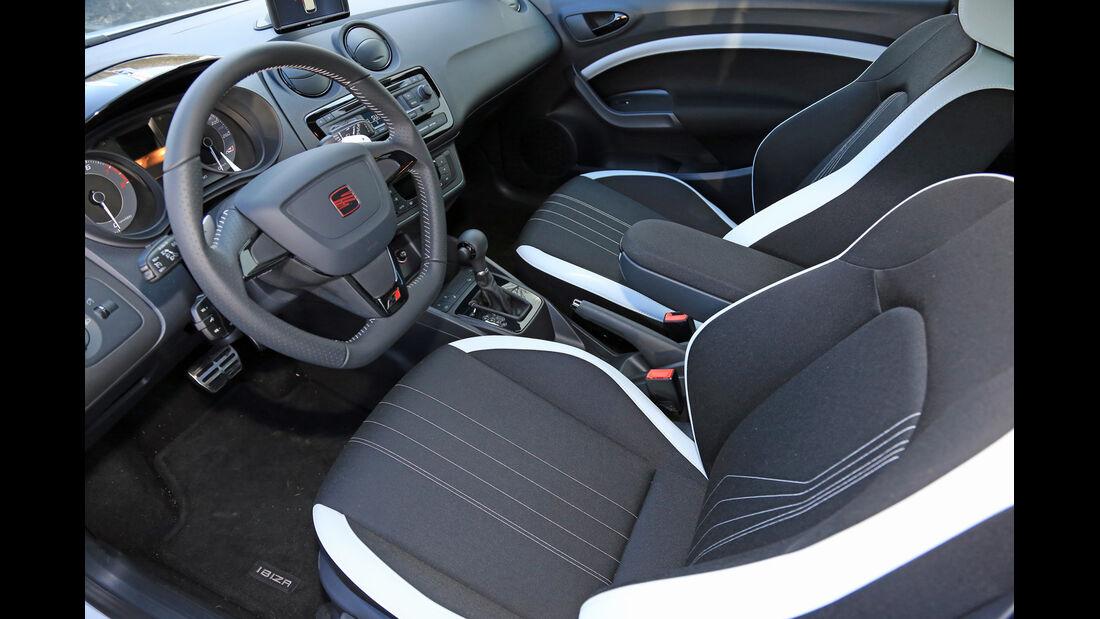 Seat Ibiza Cupra, Cockpit, Fahrersitz