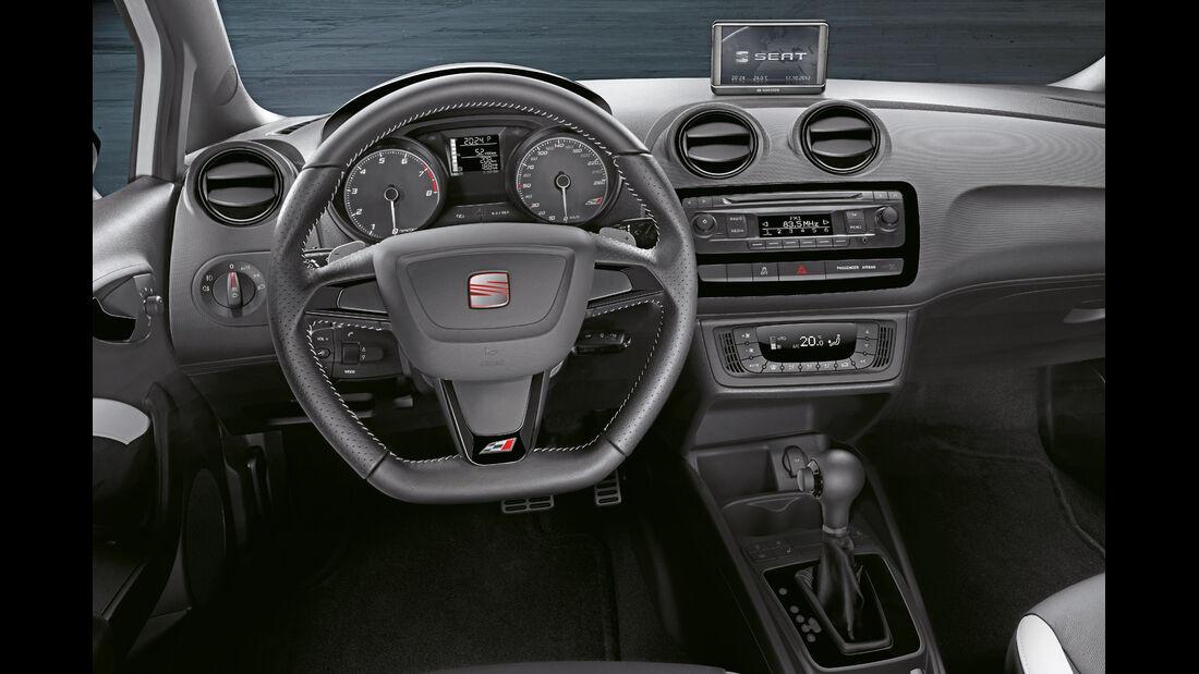 Seat Ibiza Cupra, Cockpit, Lenkrad
