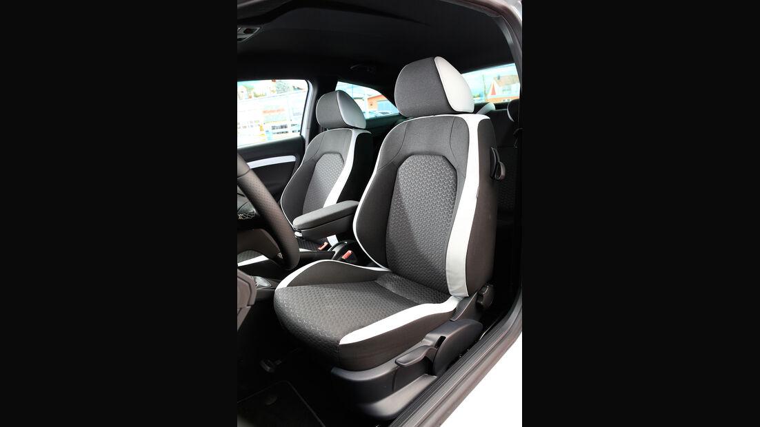 Seat Ibiza Cupra, Fahrersitz