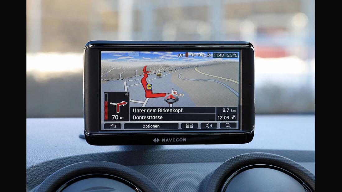 Seat Ibiza Cupra, Navi, Monitor