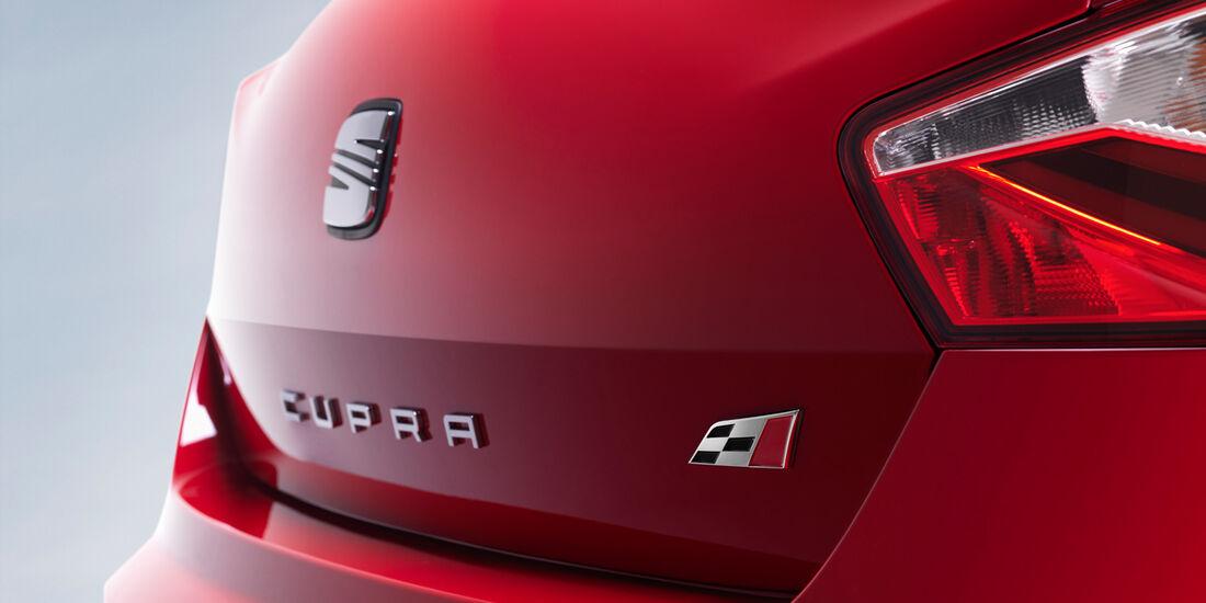 Seat Ibiza Cupra, Typenbezeichnung, Heck