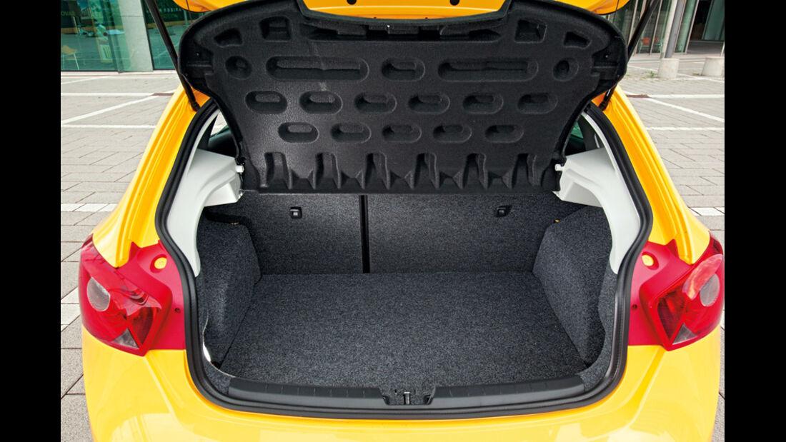 Seat Ibiza FR, Kofferraum
