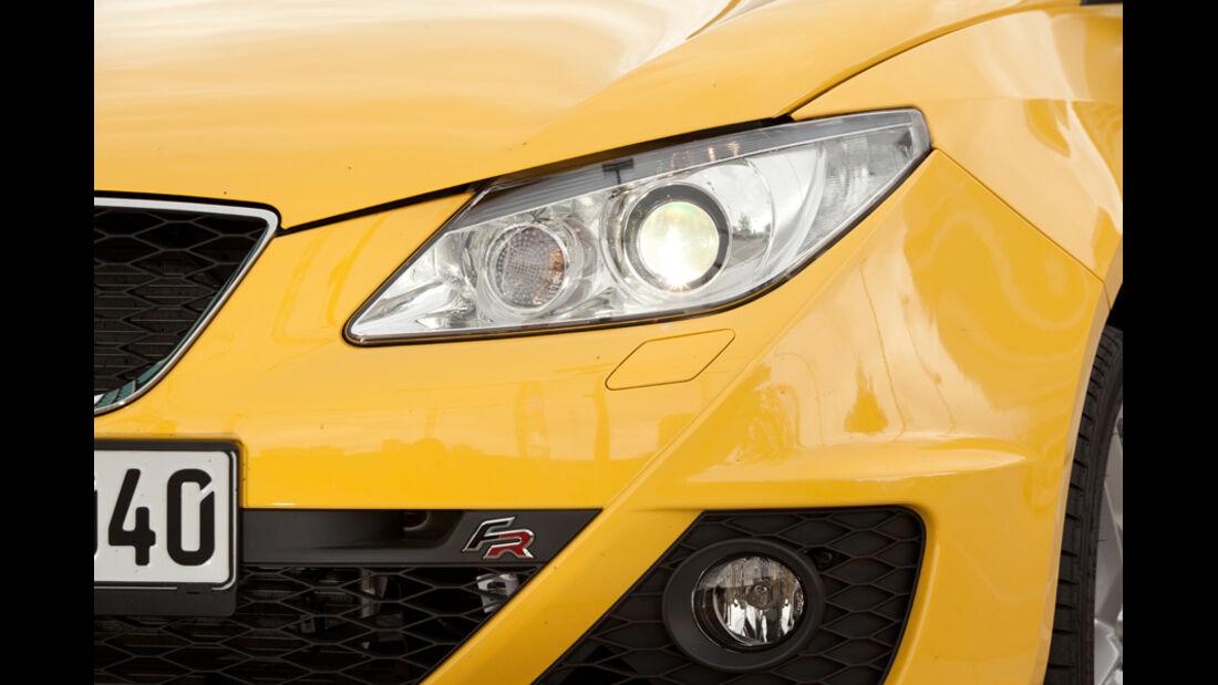 Seat Ibiza FR, Scheinwerfer