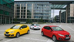 Seat Ibiza FR, Seat Ibiza Cubra, Seat Ibiza ST