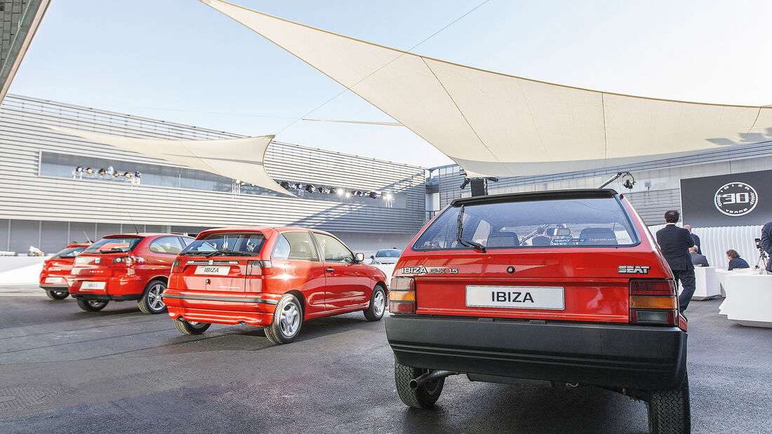 Seat Ibiza, Generationen, Heckansicht