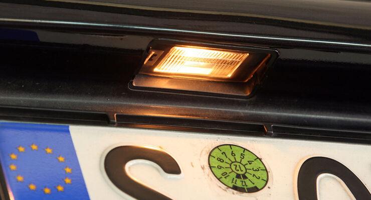 Seat Ibiza, Kennzeichenbeleuchtung