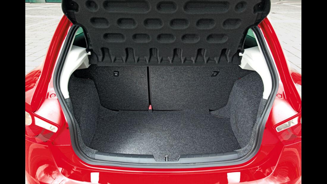 Seat Ibiza SC, Kofferraum