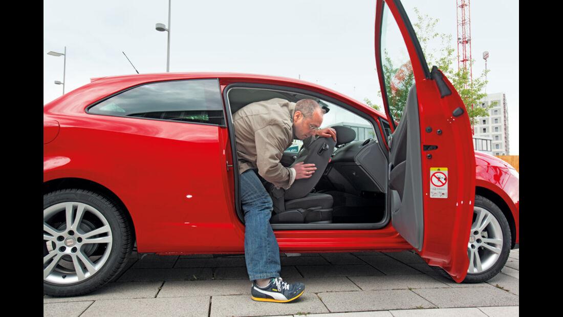 Seat Ibiza SC, Türen