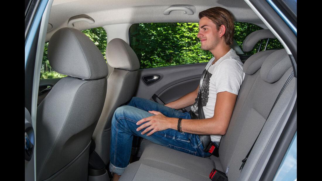 Seat Ibiza ST 1.2 TSI Style, Rücksitz, Beinfreiheit