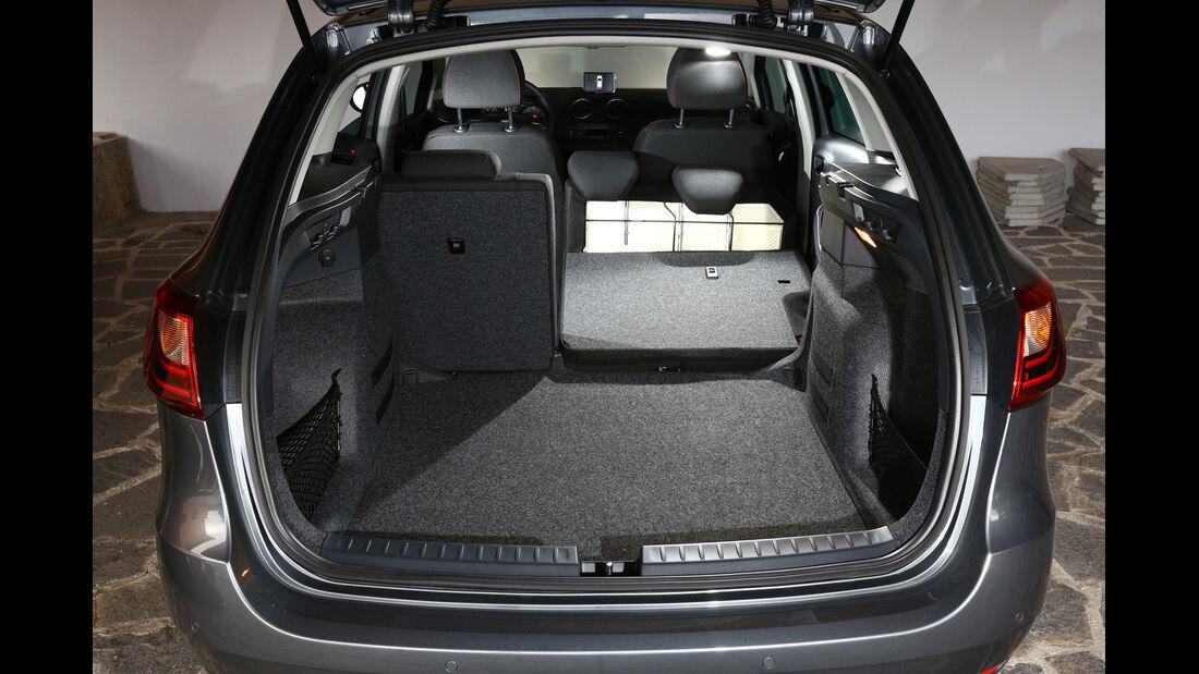 Seat Ibiza ST 1.6 TDI, Ladefläche, Kofferraum