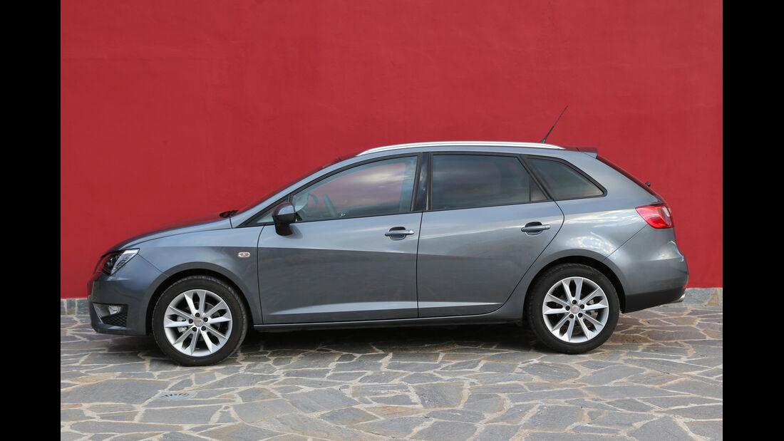Seat Ibiza ST 1.6 TDI, Seitenansicht