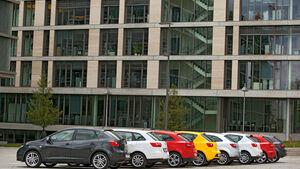 Seat Ibiza, verschiedene Modelle