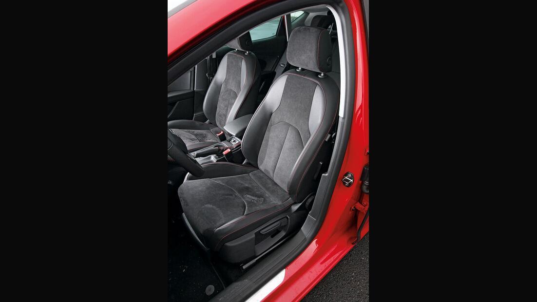 Seat León 1.4 TSI FR, Fahrersitz