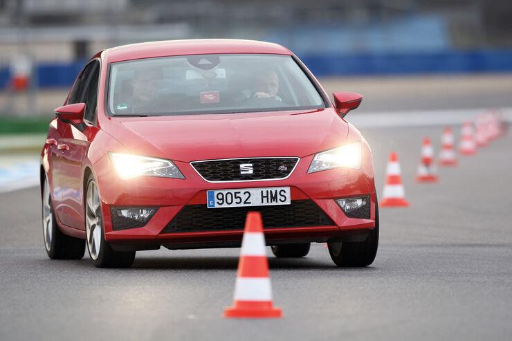 Seat León 1.4 TSI FR, Frontansicht