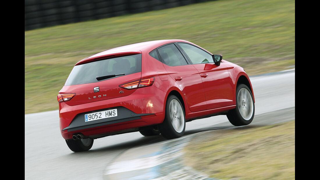 Seat León 1.4 TSI FR, Heckansicht
