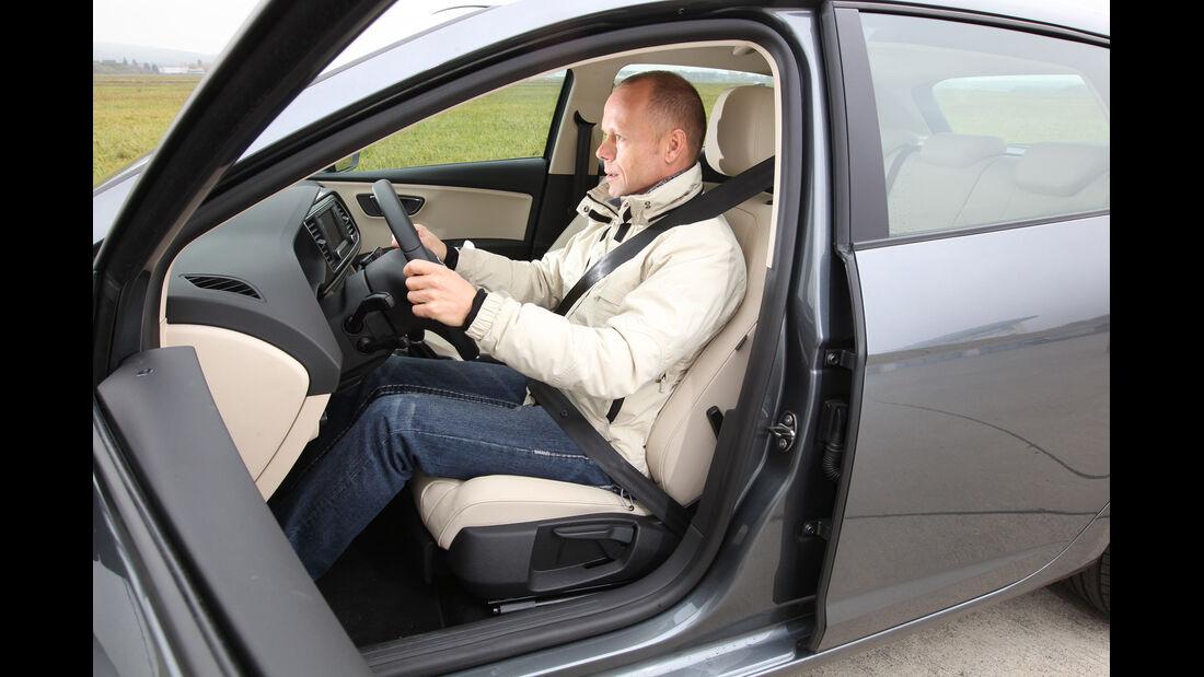 Seat León 1.4 TSI, Fahrersitz