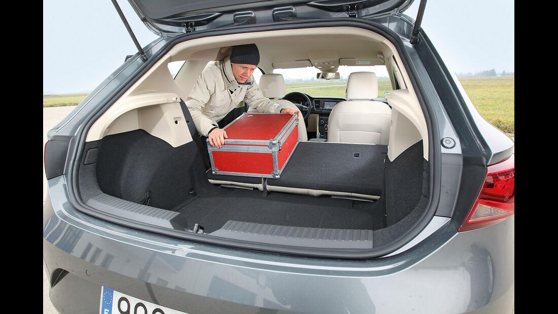 Seat León 1.4 TSI, Kofferraum
