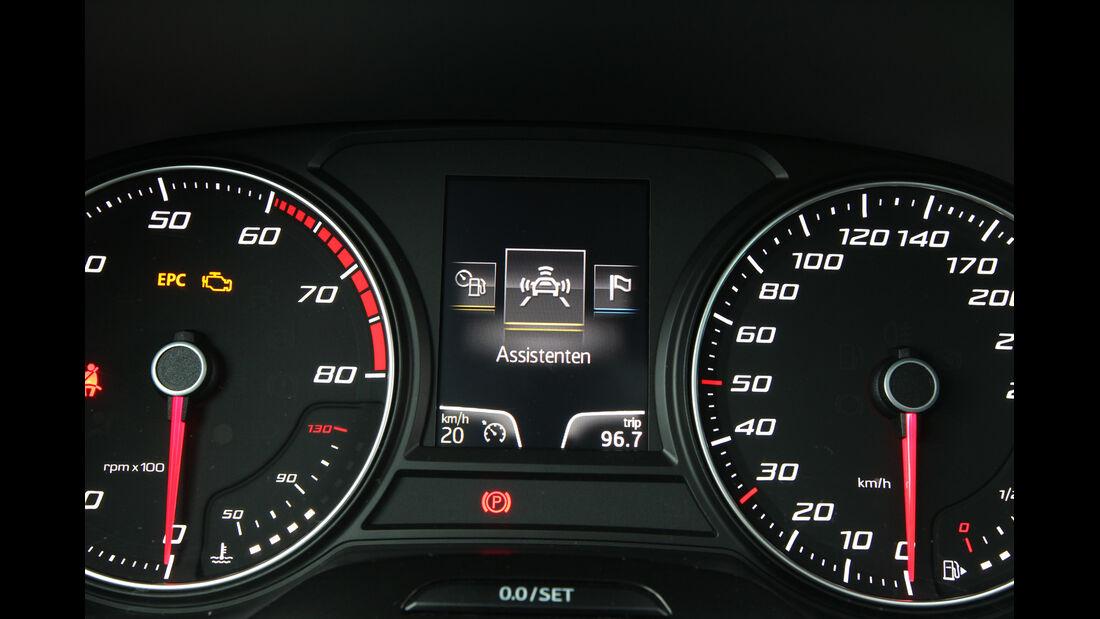 Seat León 1.4 TSI, Rundinstrumente