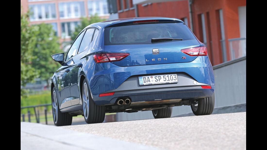 Seat León 1.8 TSI, Heckansicht