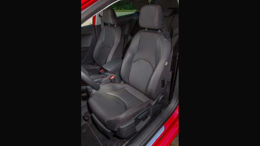 Seat León SC 1.8 TSI FR, Fahrersitz