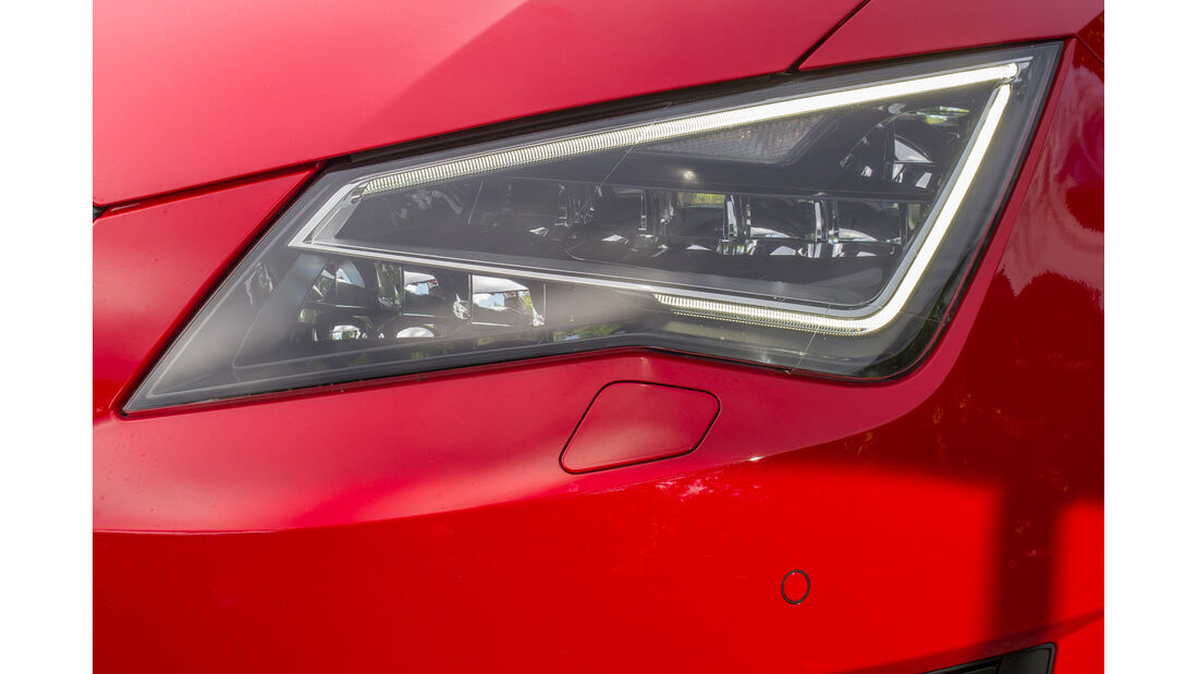 Seat León SC 1.8 TSI FR, Frontscheinwerfer