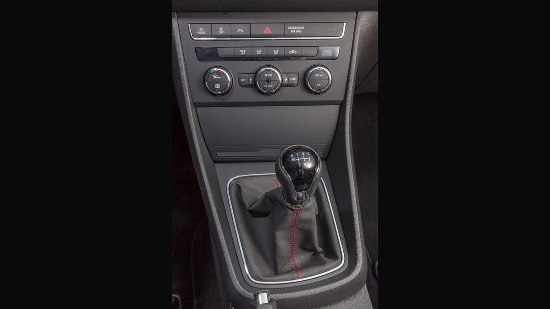 Seat León SC 1.8 TSI FR, Mittelkonsole, Schalthebel