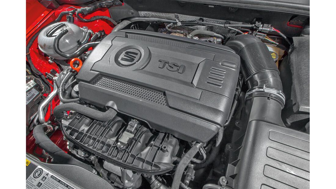Seat León SC 1.8 TSI FR, Motor