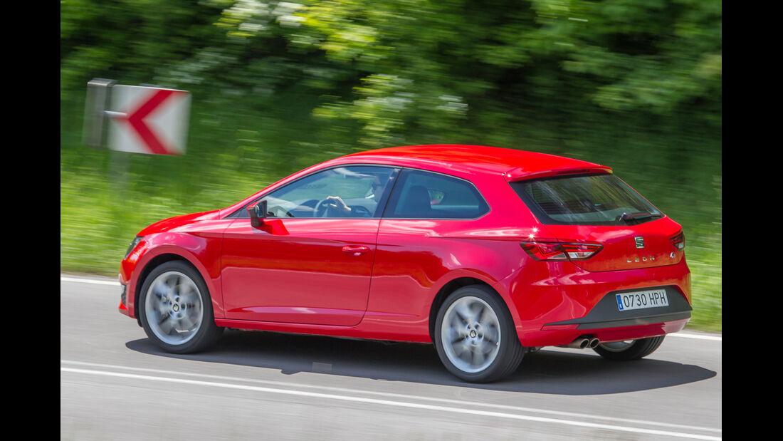 Seat León SC 1.8 TSI FR, Seitenansicht