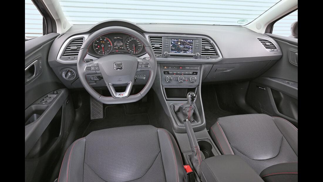 Seat León ST 1.4 TSI, Cockpit